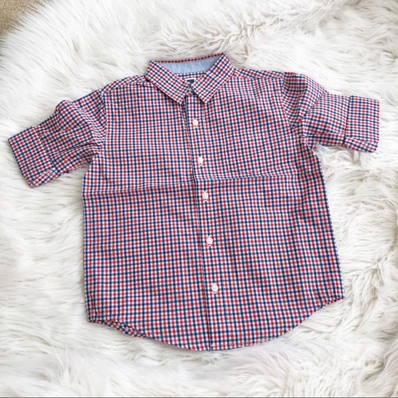 Janie and Jack Other - Janie and Jack Toddler Boy Button Down Shirt